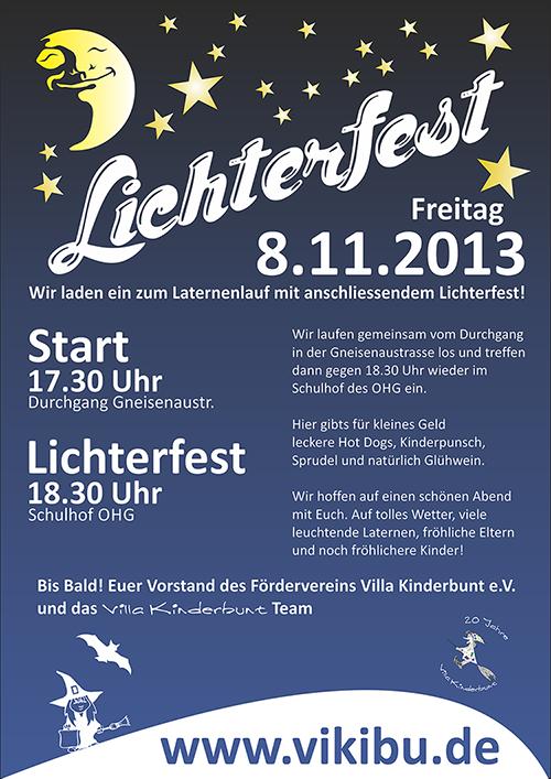 Lichterfest 2013